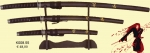 Medieval - Katana Oriental Weapons - Set Completi - September reproduction of Japanese swords