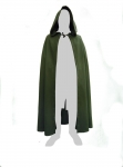 Medieval - Medieval Clothing - Medieval Fantasy Costumes - Hooded cloak with long-tail or simple (optional).