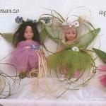 Porcelain Fairy Dolls - Porcelain Fairy - Porcelain Fairies (Small) - Fairy Months Doll porcelain bisque, size: 12 cm.