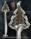 """World Cinema - Hobbit Collection - Sword of Thorin, full size prop replica. Stainless steel blade. Comes with diecast metal display. Sword measures 39.5"""" long."""