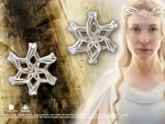 World Cinema - Hobbit Jewelry - GALADRIEL Ring Earrings, crafted in sterling silver. Comes with box set collection Hobbit.