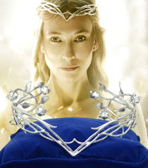 galadriel headdress hobbit jewelry for sale avalon