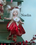 Porcelain Fairy Dolls - Porcelain Angels Dolls - The porcelain doll is made as shown in the image shown - from hair to shoes, hands. height: 9 in (23 cm).