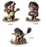 NyForm Troll - Offers NyForm Troll - The offer includes the Trolls: trolls 240 - 246 - 251.