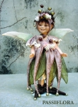 Porcelain Fairy Dolls - Porcelain Fairy - Porcelain Fairies - Fairy Sculpture, handcrafted porcelain doll Biscuit. Height: 34 cm. Collection Montedragone.