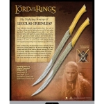 World Cinema - The Lord of the Rings - Swords and Weapons - Original Swords - Lord of the Rings - Legolas Fighting Knives, Original Lord of the Rings Knives made by United Cutlery