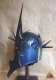 World Cinema - Witch King Helmet, authentic reproduction of the helmet Witch-king of Angmar, steel helmet, wearable, robust.