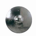 Ancient Rome - Roman Shields - Shield to take up a circular convex profile and said bushings iron, size: 33 x 33 cm.