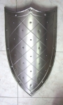Armours - Medieval shields - Reinforced with rivets at the edge ornament.