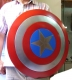 Medieval - THE WORLD OF CINEMA - Captain America metal shield is crafted from metal, it measures approximately 23 1/4-inches in diameter. The Captain America Shield is made of steel making it fully functional. Like Captain America's real shield it is slightly concave.