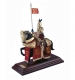 knights in armour miniature figurines