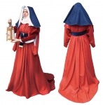 Medieval - Medieval Clothing - Medieval Women Costumes - Surcoat women dating from the mid-fifteenth century. (Red or upon request)