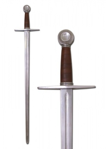 One-handed sword, battle-ready, Swords and Ancient Weapons - Weapons forged to hand - One-handed sword, battle-ready, Sword combat, model from the first half of the thirteenth century
