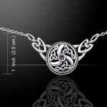 Jewellery - Celtic Jewellery - Silver 925/100. Size: 4.3 cm x 2.2 cm.
