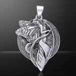 Jewellery - Celtic Jewellery - Silver 925/100. Size: 3.5 cm x 4cm.