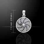 Jewellery - Celtic Jewellery - Silver 925/1000. Size: 1.9 cm x 1.9 cm.