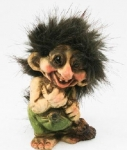 NyForm Troll - NyForm Troll News - Norwegian Troll natural material, subject to international collection. Height: 9.0 cm