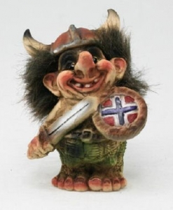 Troll Nyform 06, NyForm Troll - NyForm Troll News - Norwegian Troll natural material, subject to international collection. Height: 10.0 cm