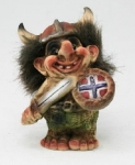 NyForm Troll - NyForm Troll News - Norwegian Troll natural material, subject to international collection. Height: 10.0 cm