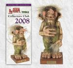 Troll  NyForm - Troll NyForm club - Troll infrangibile in materiale naturale (lattex). Dimensioni: 21 cm. Edizione a serie limitata del 2008.