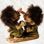 NyForm Troll - NyForm Troll (small) - Norwegian Troll natural material, subject to international collection. Height: 12 cm.