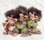 NyForm Troll - NyForm Troll (medium) - Norwegian Troll natural material, subject to international collection. Height: 11 cm