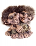 NyForm Troll - NyForm Troll (medium) - Norwegian Troll natural material, subject to international collection. Height: 12 cm