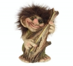 Troll  NyForm - Troll NyForm Piccoli - Troll infrangibile in materiale naturale (lattex). Originale norvegese. Dimensioni: 14 cm.