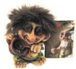 NyForm Troll - NyForm Troll (small) - Norwegian Troll natural material, subject to international collection. Height: 8,5 cm