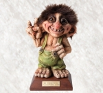 Troll  NyForm - Troll NyForm club - Troll Club 2010 Ny Form - Troll Club 2010 Ny Form. Serie Limitata Dimensioni: 23 cm di Altezza.