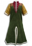 Medieval - Medieval Clothing - Medieval Fantasy Costumes - Warrior's tunic with long sleeves.