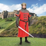 Medieval - Medieval Clothing - Tunic is worthy of the great king Richard I of England, Size: Large/X-Large is best for people 6 in tall and over.